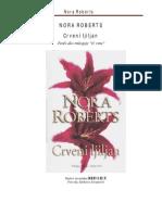 Nora Roberts Crveni Ljiljan