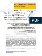Modelo de tratamiento en ingeniería ortoconductual para la resocialización penitenciaria