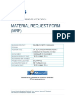 BRS - Material Request Form Online System