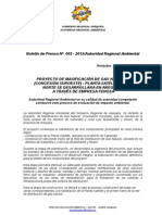 Boletin de Prensa 002 - 2015