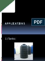 Applications Rotomolding