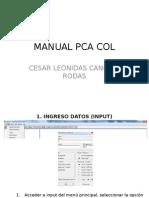 Manual Pca Col