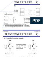 TRANSISTOR BIPOLAIRE