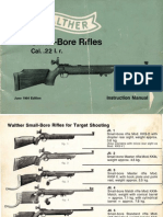 Walther Small Bore Rifle