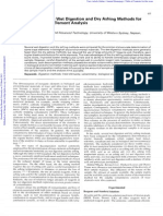 Publication - Comparison of Wet and Dry Digestions for SV of Trace Metals