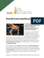Desarrolla La Fuerza Específica Para MMA _ Entrenamiento