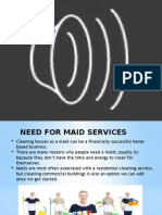 business plan on HIRING A MAID