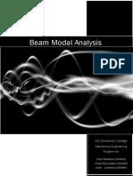 Beam Modal Analysis