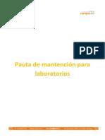 Manual de Mantencion de Laboratorios