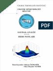 Sayısal Analiz - Gebze Teknik Üniversitesi Ders Notları