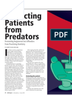 Protecting Patients from Predators