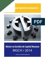 Máster Capital Humano 2014