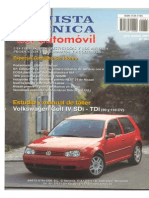 04 VW Golf IV - Manual Taller
