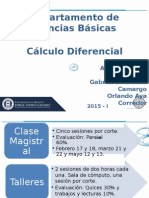 Presentación General CD 2015-I