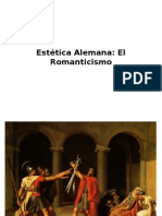 Estética  Alemana Romanticismo