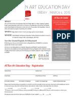 ACTion Art Education Day_Flier & Registration