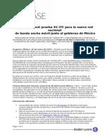 Alcatel-Lucent Realiza Pruebas de 4G LTE en Mexico-AR