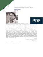 El Valor de Uso en El Marxismo de Bolívar Echeverría