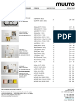 Muuto Price List Retail Chf 2013 Aug