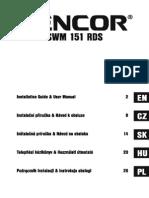 Sencor SWM 151 RDS FM Transmitter