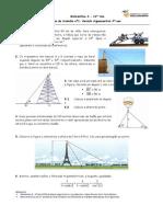 Ficha 1_Revisao Trigonometria 9ºano