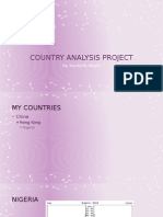 country analysis project