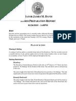 Storm Preparation Report - 1/26 @ 1:45PM