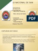 Cinturon de Fuego presentacion trabajo geologia