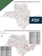 Mapas de Viveiros de Produção de Mudas Florestais Nativas