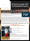 Speed Ladder Drills for Basketball Players