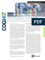 Default Mortgage Servicing Simplified