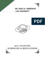 The Tamilnadu Dr.Ambedkar Law University Act