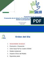 9. Experiencias de Promocion de La Salud y Prevencion de La Enfermedad - Javesalud