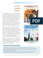 Teaching About the Civil Rights Movement with Picture Books Teachers' Guide