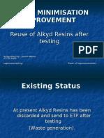 Reuse Alkyd Resin Javed