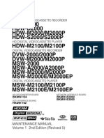 Msw-2000 Maintenance Manual