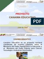 Presentación Canaima Educativo