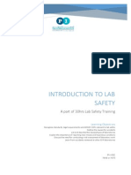 Intro to Lab Safety Handout