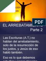 La resurrección de los Justos