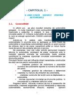 Marketingul Unei Statii Service Pentru Automobile