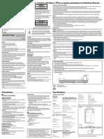 JVC TH-BS7 Instructions