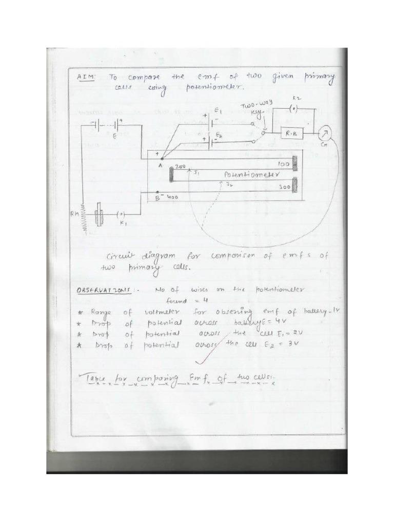 Cbse Class 12 Physics Practical Book
