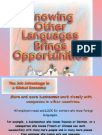 The Importance of Knowing Foreign Languages 3