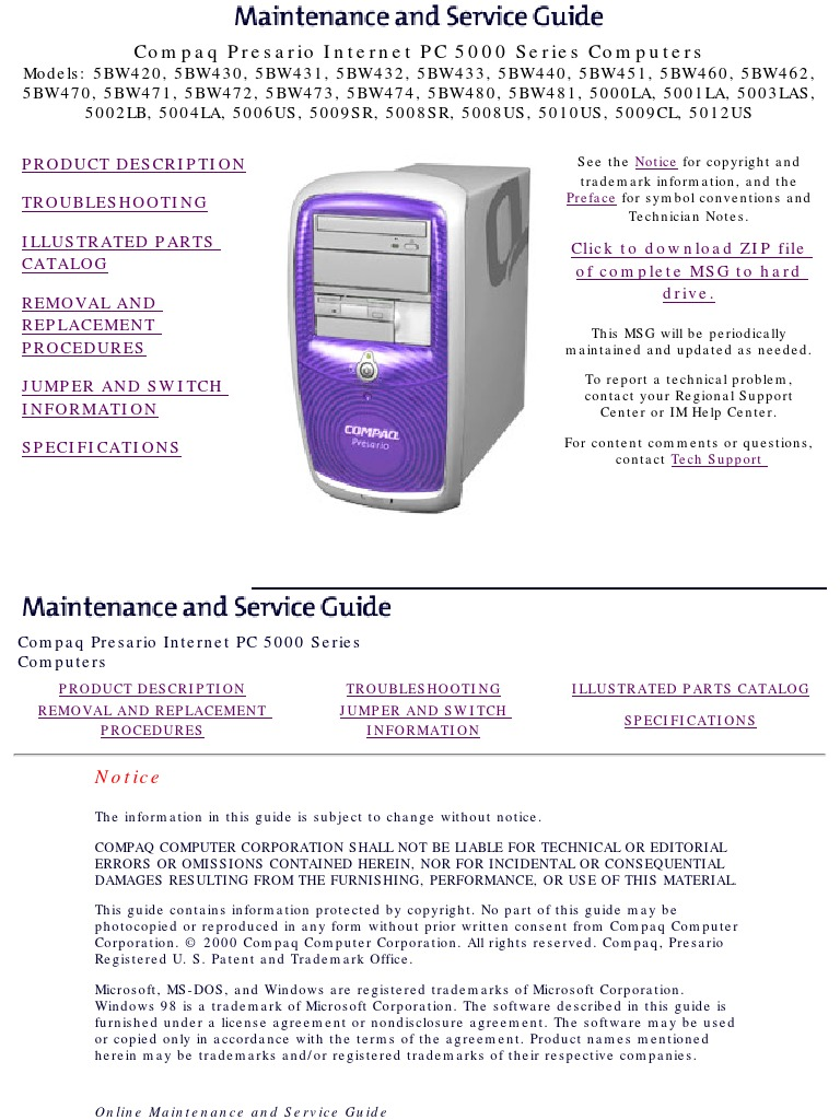 compaq presario 5000 series manual user guide manual that easy to rh lenderdirectory co Old Compaq Presario Desktop Compaq Presario Desktop Series