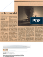 Blink Press - Financial Times - Room for manoeuvre in taxi model