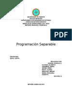 F. HILLIER. Programacion Separable