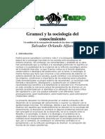 Alfaro, Salvador O - Gramsci Y La Sociologia Del Conocimiento