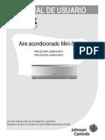 Minisplit Inverter 1 Ton York 16seer Manual