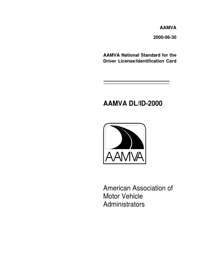 Aamva Driver License Format