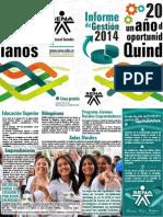 Informe de Gestión 2014 - Director SENA Regional Quindío - Imprenta.pdf